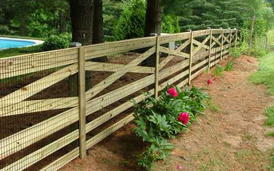 privacy fence residential picket fence